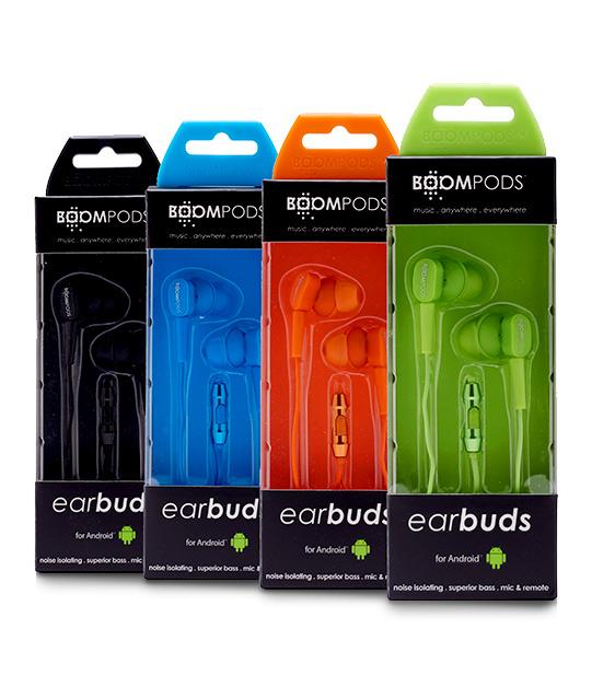 earbuds packaging