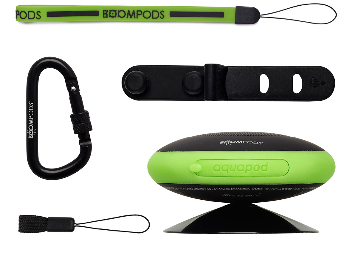 Boompods - aquapod accessory kit