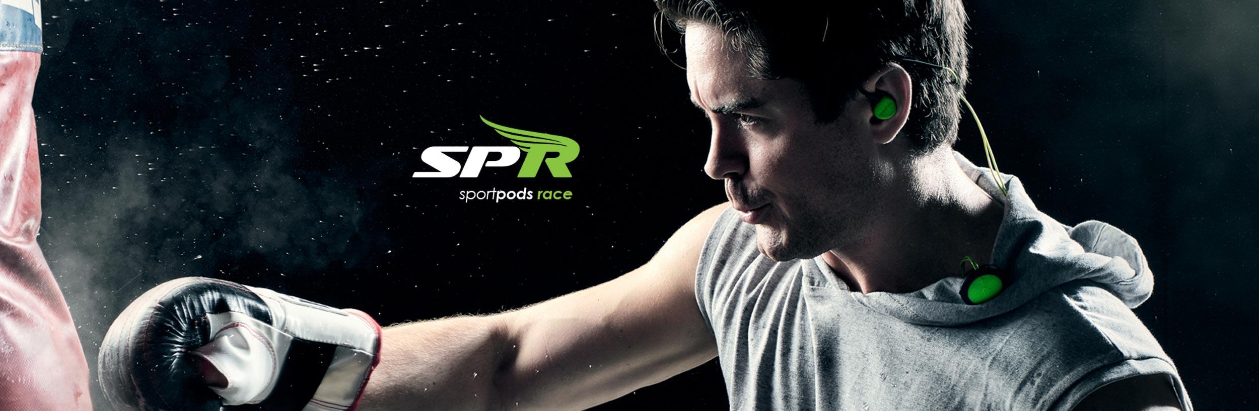 Boompods Sportpods Race