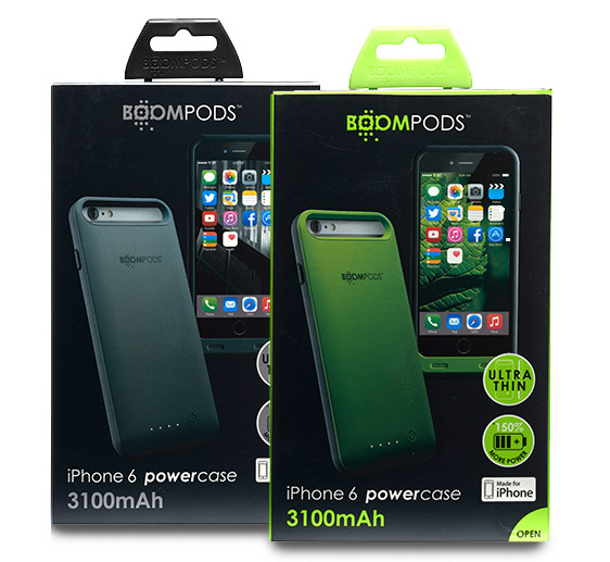 Boompods - Powercase 3100 for iPhone 6 Plus