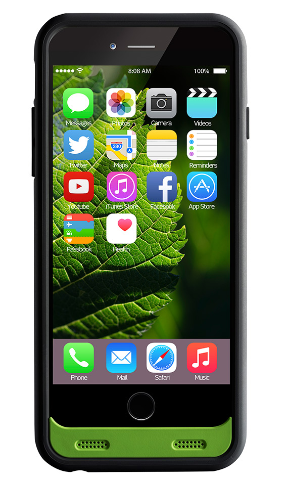 Boompods - Powercase 3100 for iPhone 6 Plus - close up