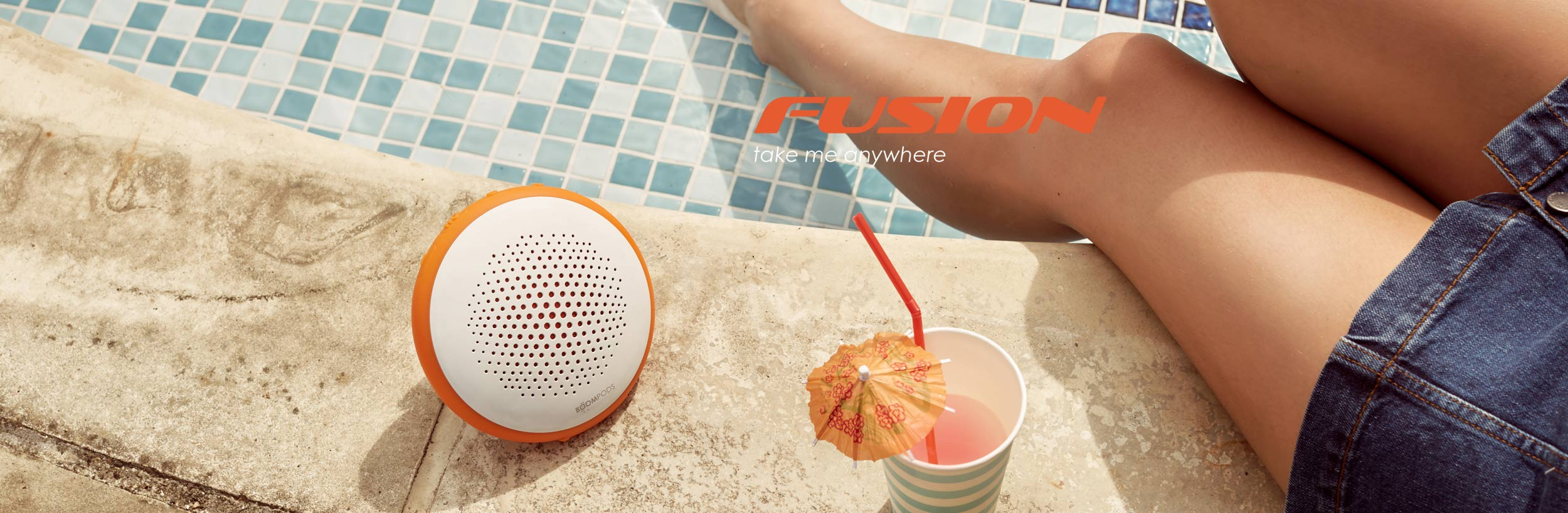 Fusion Wireless Speaker - Take Me Anywhere!