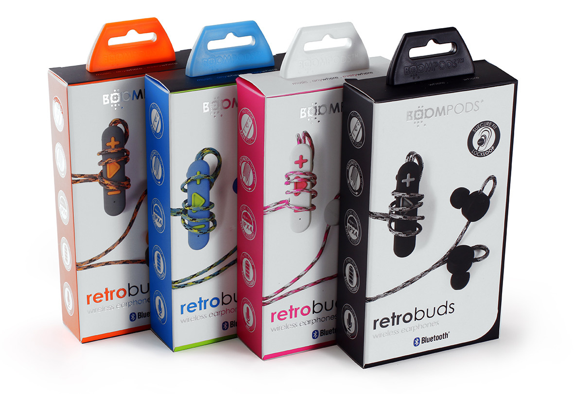 Boompods - retrobud - box set