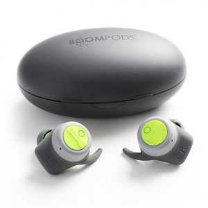 Boompods - Boombuds in grey & green