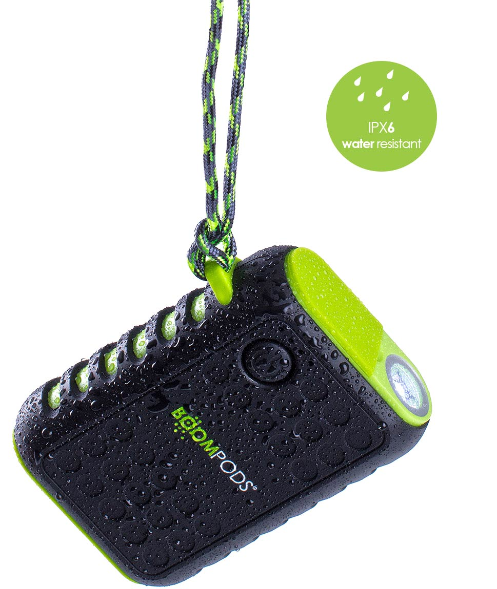 Boompods - powerboom X - Water resistant USB power bank - Close up