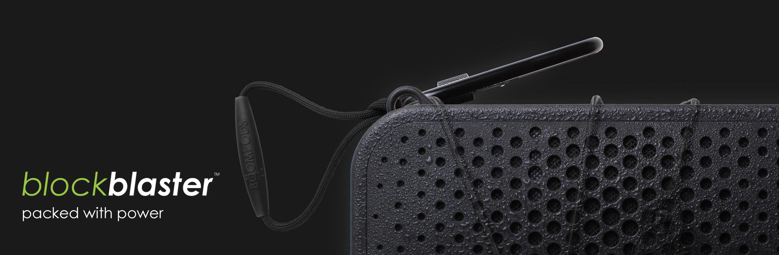 Boompods Blockblaster Bluetooth Hi-Fi Speaker