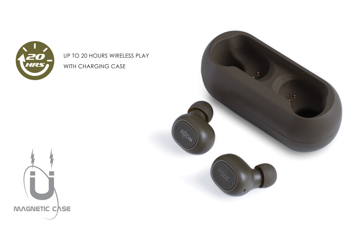 Boompods GO - high quality wireless earphones