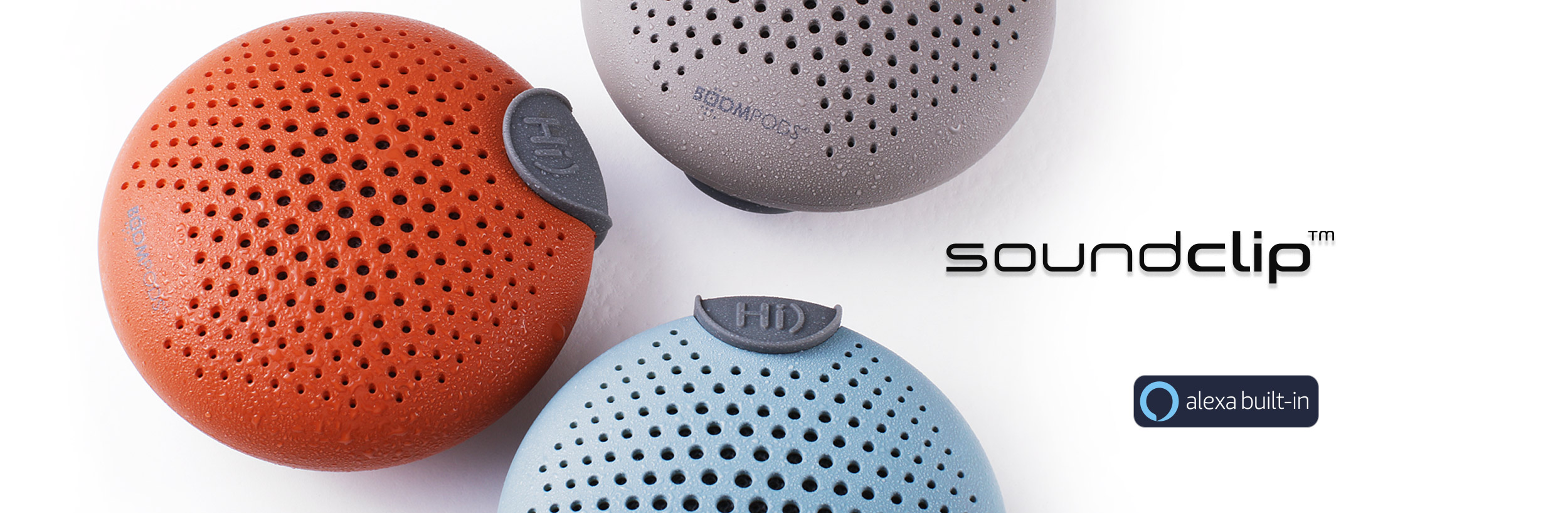 Nowy głośnik BOOMPODS w rozmiarze kieszonkowym z witualną asystentką Amazon Alexa