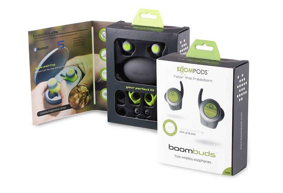 Boompods - boombuds box