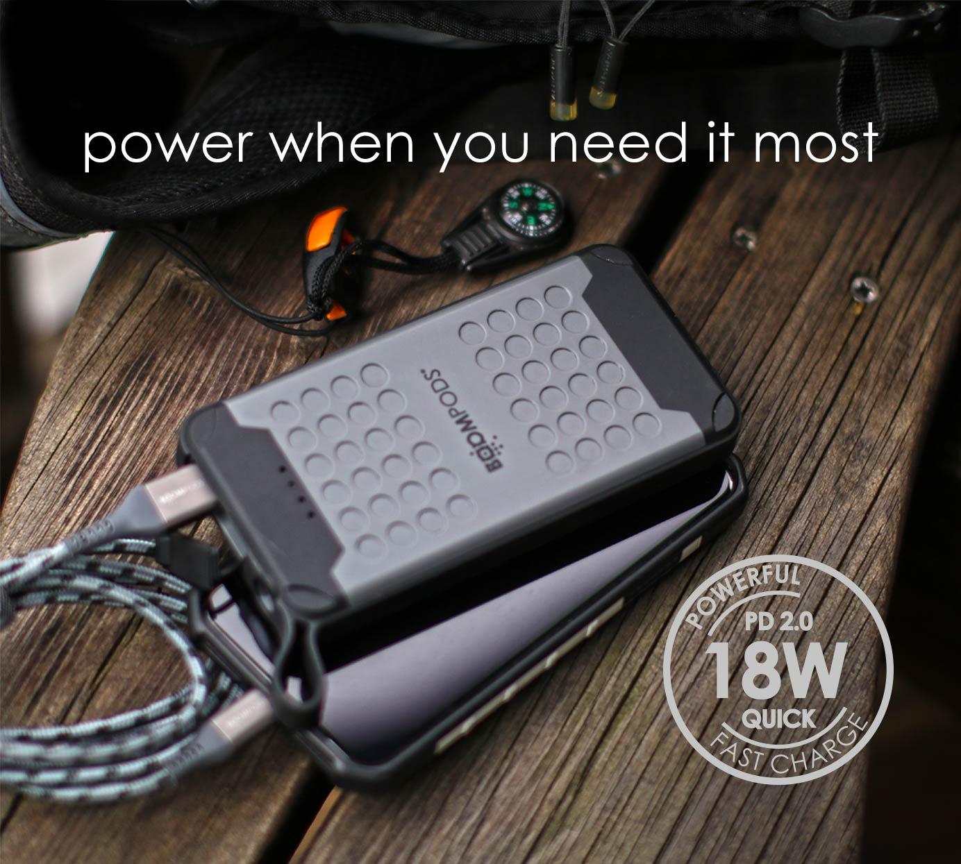Boompods Powerboom X10 Waterproof - power when you need it!