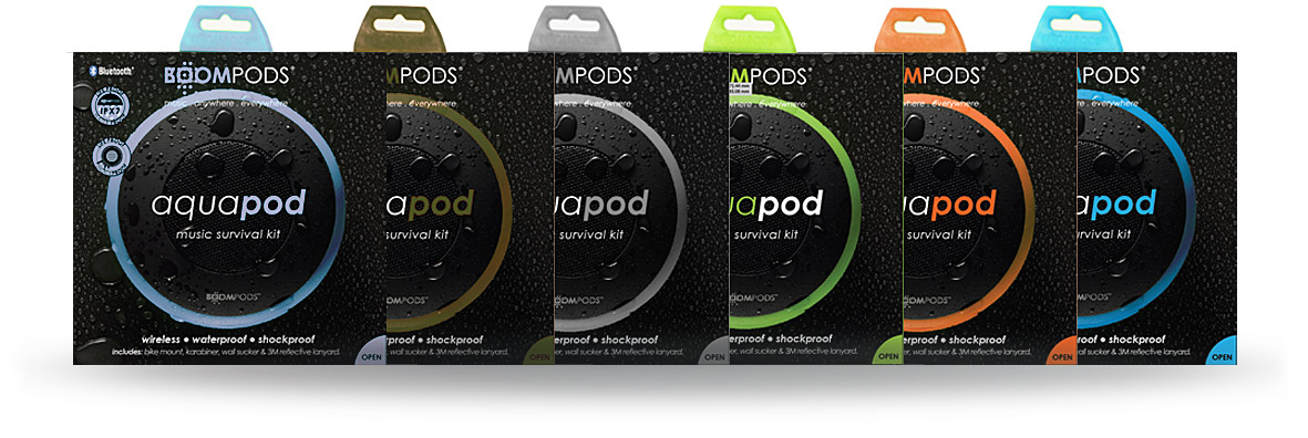 Boompods - aquapod box set