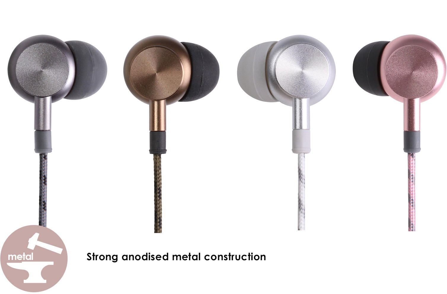Stong anodized metal construction