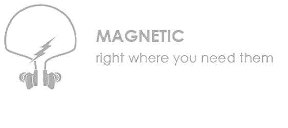Boompods Hi)PODS - Magnetic