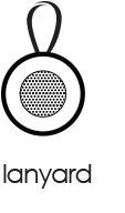 Boompods - aquapod Lanyard