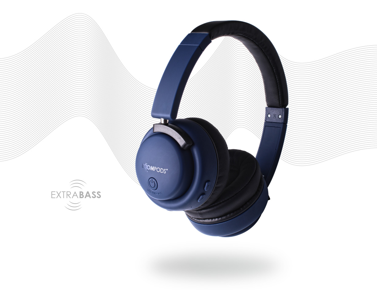 Boompods Hush EQ Wireless - Noise Cancelling