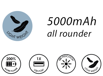 powerboom 5000mAh - The all rounder