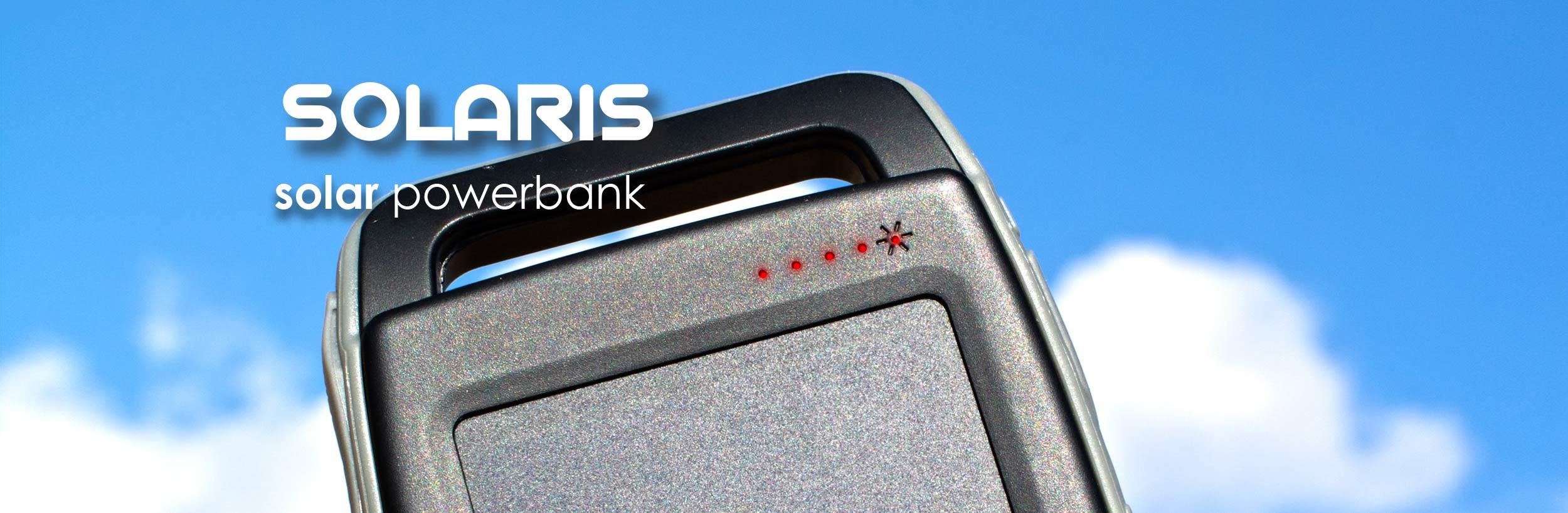 Boompods Solaris Solar Powerbank