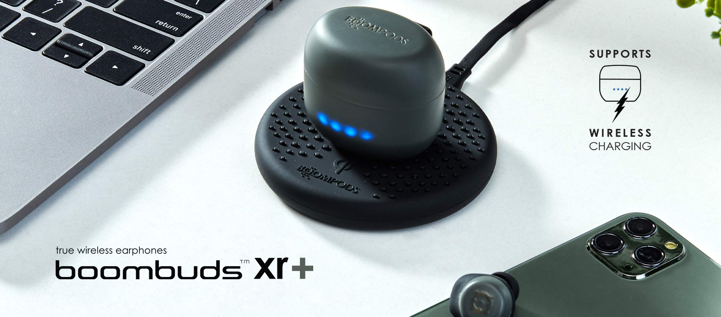 Boombuds XR+ - True Wireless Earbuds