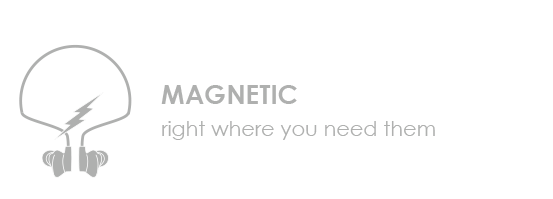 Magnetic - Right where you need them