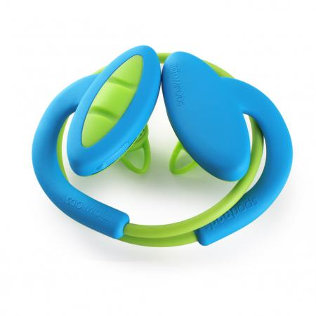 Boompods - Sportpods 2 -Blue/Green
